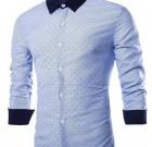 Camisa ejecutiva y casual, cuello clásico